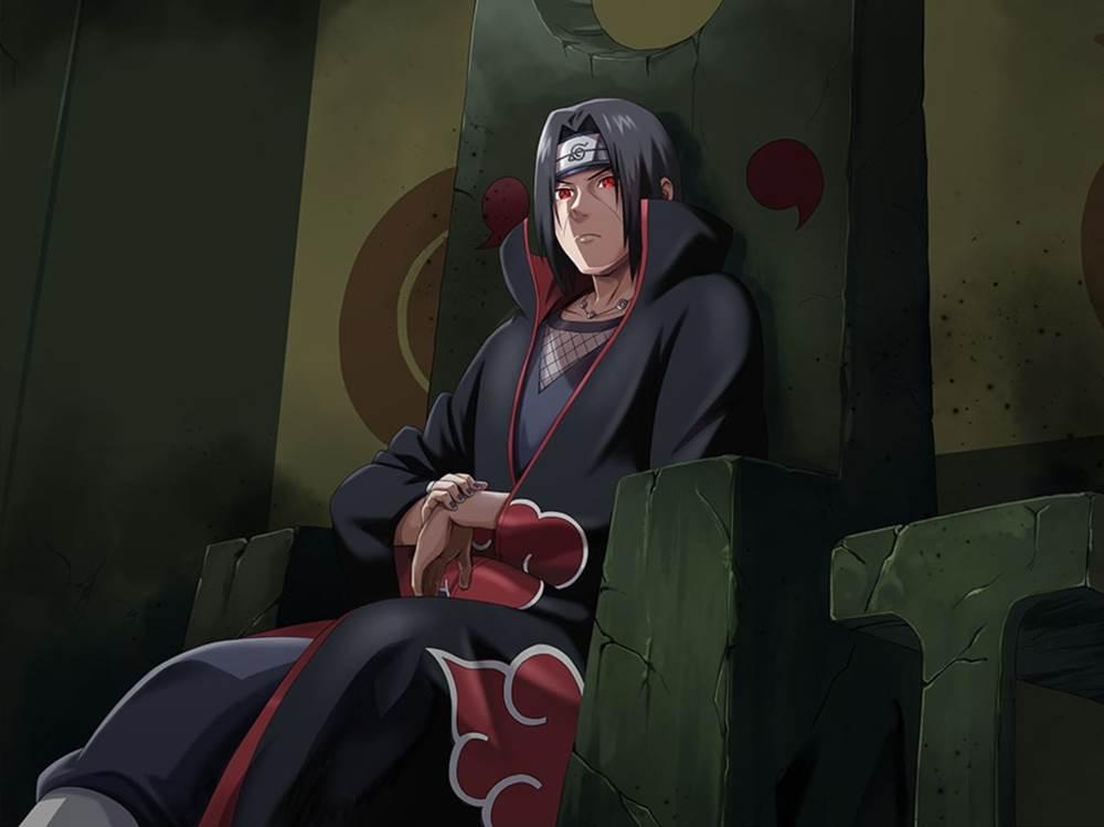 """Concurso"" de popularidade dos personagens de Naruto. Itachi-uchiha-wallapaper"